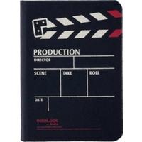 Notelook Production Yatay A5 100 Yaprak Çizgili Siyah Defter