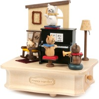 Wooderfullife 1062401 Cat Play Piano