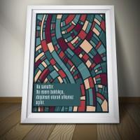 Juno Bu Sanattır Çerçeveli Poster