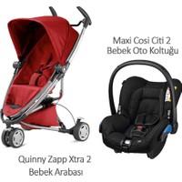 Quinny Zapp Xtra 2 Bebek Arabası +Maxi Cosi Citi 2 Black Raven