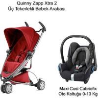 Quinny Zapp Xtra 2 Bebek Arabası + Cabriofix