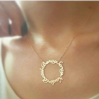 Silver & Silver Sevgiliye Özel Kolye