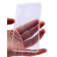 Kny LG K7 Kılıf Ultra İnce Silikon +Kırılmaz Cam