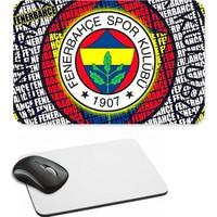 Fotografyabaskı Fenerbahçe Taraftar Dikdörtgen Mouse Pad