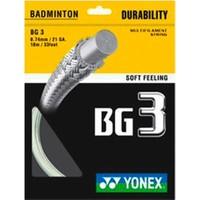 Yonex Bg 3 (10M) Bad.Kordajı-Beyaz
