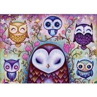 Heye Great Big Owl Puzzle (1000 Parça - Jeremiah Ketner)