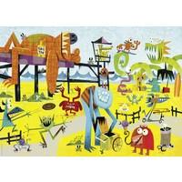 Heye 1000 Parça Monster Beach Puzzle (Slack Michael)