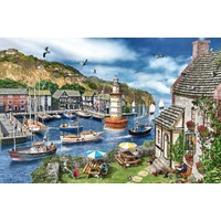 Falcon Summertime Harbour, 1000 Parça Puzzle