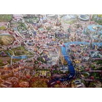 Falcon Map Of London, 1000 Parça Puzzle