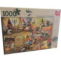 Jumbo At Home With The Gnomes, 1000 Parça Puzzle