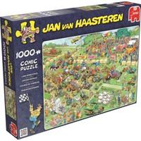 Jumbo Lawn Mower Race, 1000 Parça Puzzle