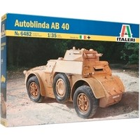 Italeri Autoblinda Ab 40 (1/35 Ölçek)