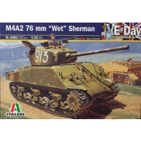 Italeri M4A2 76 mm Wet Sherman