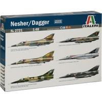 Italeri Nesher/ Dagger (1/48 Ölçek)