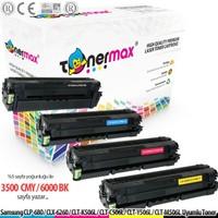 Toner Max® Samsung CLX-6260 / CLT-K506L Muadil Toneri