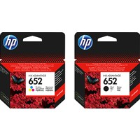 HP 652 F6V24A / F6V25A Orjinal Siyah ve Renkli Avantaj Paket Kartuş / HP Deskjet Ink Advantage 3835