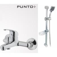 Eczacıbaşı Artema Punto Ideo Banyo Bataryası + Dorusu Sera Sürgülü Duş Seti