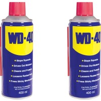 Wd-40 Çok Amaçlı Pas Sökücü 400 ml (2 Adet)