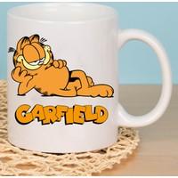 Fotografyabaski Garfield Beyaz Kupa Baskı