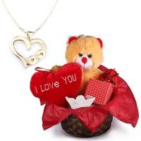 Ejoya Sevgiliye Özel Sonsuza Kadar Kalbimdesin Altın Hediye Paketi