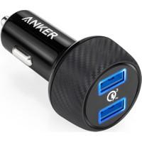 Anker PowerDrive 2 Speed QC 3.0 Hızlı Araç Şarj Cihazı