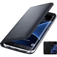Teknoarea Samsung Galaxy C7 Deri Cüzdan Kılıf Flip Wallet