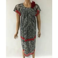 Entarim Hamile Şifon Elbise 2272 - Kırmızı