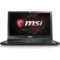 "MSI GS63VR 7RF(Stealth Pro)-267XTR Intel Core i7 7700HQ 16GB 1TB + 128GB SSD GTX1060 Freedos 15.6"" FHD Taşınabilir Bilgisayar"