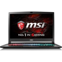 "MSI GS73VR 7RF(Stealth Pro) - 255XTR Intel Core i7 7700HQ 16GB 1TB + 256GB SSD GTX1060 Freedos 17.3"" FHD Taşınabilir Bilgisayar"