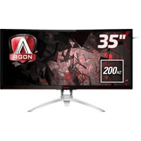 "AOC AGON AG352QCX 35"" 200 Hz 4ms (Analog+DVI-D+HDMI+Display) FreeSync Full HD Oyuncu Monitörü"