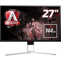 "AOC AGON AG271QX 27"" 144 Hz 1ms (Analog+DVI-D+HDMI+Display) FreeSync QHD Oyuncu Monitörü"
