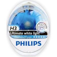 Diamond Vision Philips H3 Tip Ampül Seti 104810