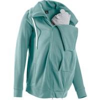 Bpc Bonprix Collection Kadın Mavi Hamile Bebek Korumalı Sweat Ceket