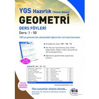 EİS Yayınları Ygs Geometri (Temel Düzey) (Mf-Tm-Ts) (1-50) (2017)