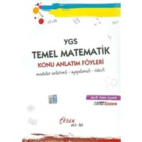 Eksen Yayıncılık Ygs Temel Matematik Konu Anlatım Föyleri