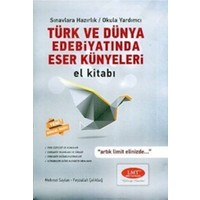 Limit Yayınları Türk Ve Dünya Edebiyatında Eser Künyeleri El Kitabı Limit Yayınları