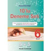 Palme Yayınları 6.Sınıf 10 ' Lu Deneme Seti