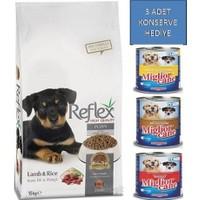 Reflex 15 Kg Kuzu Etli & Pirinçli Yavru Köpek Maması