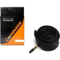 Compass İç Lastik 700X23-25 İğne Sibop 40Mm Siyah