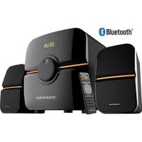 Kamosonic Ks-2040 300 Watt Peak Power Bluetooth 2+1 Ses Sistemi Kumandalı