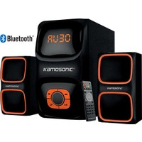 Kamosonıc Ks-2045 300 Watt Peak Power Bluetooth 2+1 Ses Sistemi Kumandalı