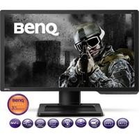 """BenQ XL2411 24"""" 1ms (Analog+DVI-D+HDMI) 144hz Full HD Oyuncu Monitör"""
