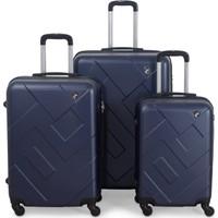 Malp ABS Çıtadel Üçlü Valiz Seti
