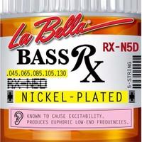 Gitar Aksesuar Bas Tel Labella 5 Telli RX-N5D 0,45