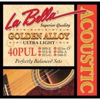Gitar Aksesuar Akustik Tel Labella 40PUL 0,9