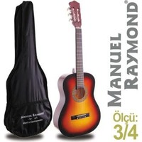 Klasik Gitar Junior Manuel Raymond MRC87SB (KILIF HEDİYE)