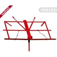 Nota Sehpası Portatif XNS1RD Kırmızı ( Taşıma Kılıfı Hediyeli )