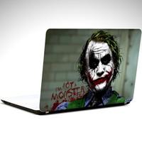 Dekolata Joker Ben Monster Değilim Laptop Sticker