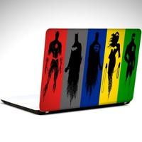 Dekolata Fantastik Kahramanlar Laptop Sticker