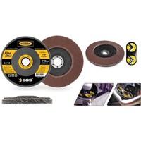 Sgs 115 Mm A120 Kum Flap Disk Zımpara 090883 6Lı Paket